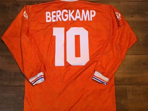 1994 1995 Holland Bergkamp L/s Football Shirt XL